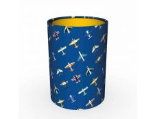 Quo Vadis Louise&Arthur - Pot à crayon métallique - liberty ou avion