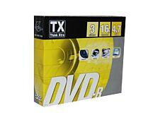 TX - 3 DVD-R avec boîtiers - 4.7 Go
