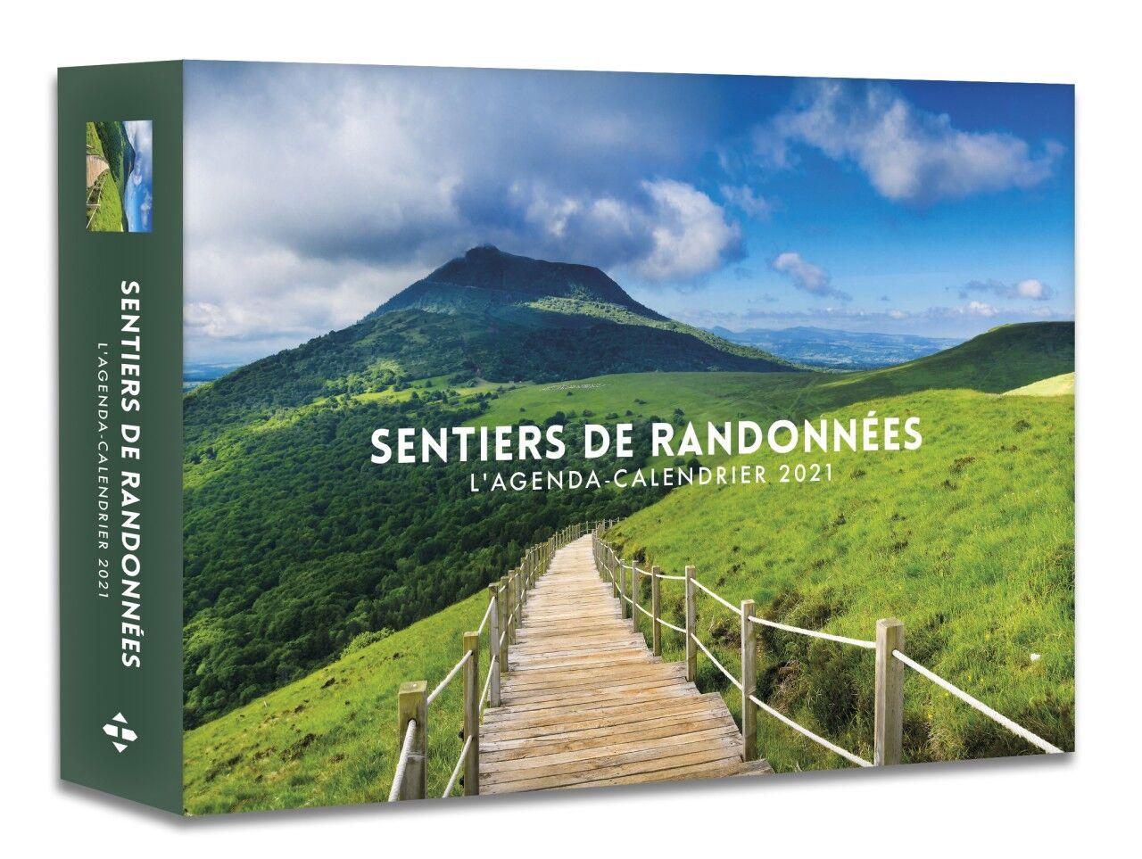 L'Agenda calendrier Sentiers de randonnées 2021 Pas Cher | Bureau