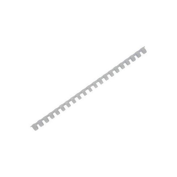 Fellowes  5348602 Pack de 50 Anneaux plastiques Blanc 28 mm A4