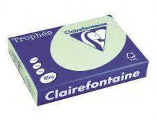 Clairefontaine Trophée - papier couleur - 80g/m² - A4 - 500 feuilles - Vert
