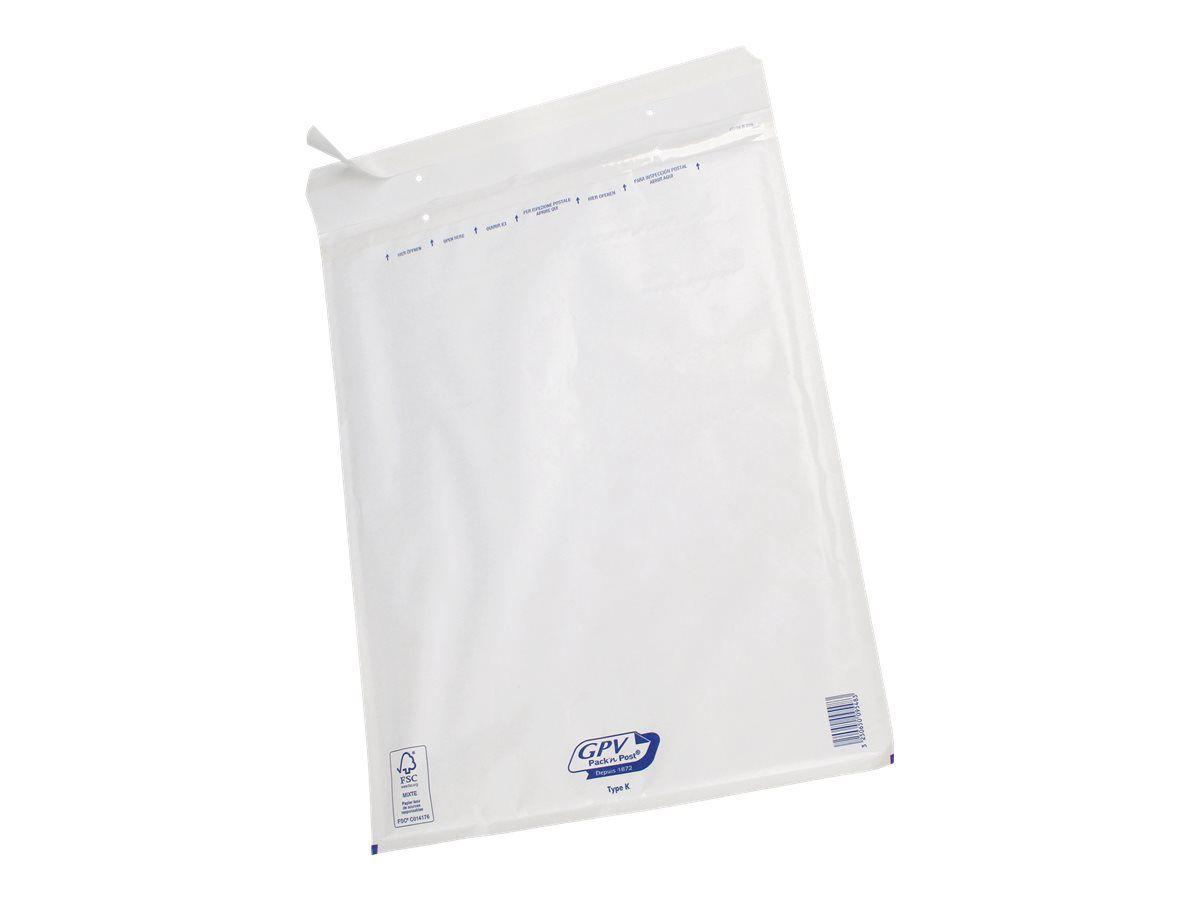 GPV pack'N POST - Pochette bulle - pack de 50 - 340x470