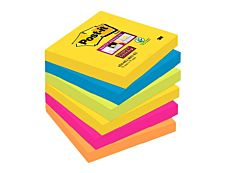 Notes Super Sticky Post-it Rio - 76 x 76 mm - 6 blocs