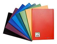 Exacompta - farde de présentation - 80 vues - A4 - disponible dans différentes couleurs