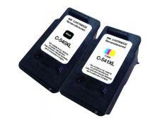 Canon PG 540XL- CL 541XL - remanufacturé UPrint C.540/541XL - pack de 2 - BK+CMY - cartouche d'encre