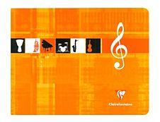 Clairefontaine Metric Italian style - A5+ - Cahier de musique - 22 x 17 - 48 pages - Lignées