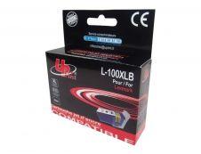 Lexmark 100XLA - compatible Uprint L.100XLB - noir - à rendement élévé - cartouche d'encre