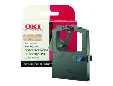 OKI 9002309 - noire - original - ruban d'impression