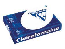 Clairefontaine - Papier blanc - A4 (210 x 297 mm) - 90 g/m² - 2500 feuilles (carton de 5 ramettes)