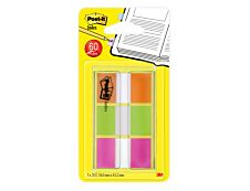Marque-pages Post-it souples - Lot de 3 x 20