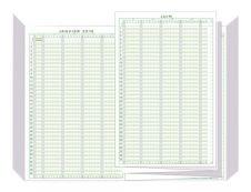 Exacompta - Planning des congés et des absences - mai à mai - 297 x 200 mm