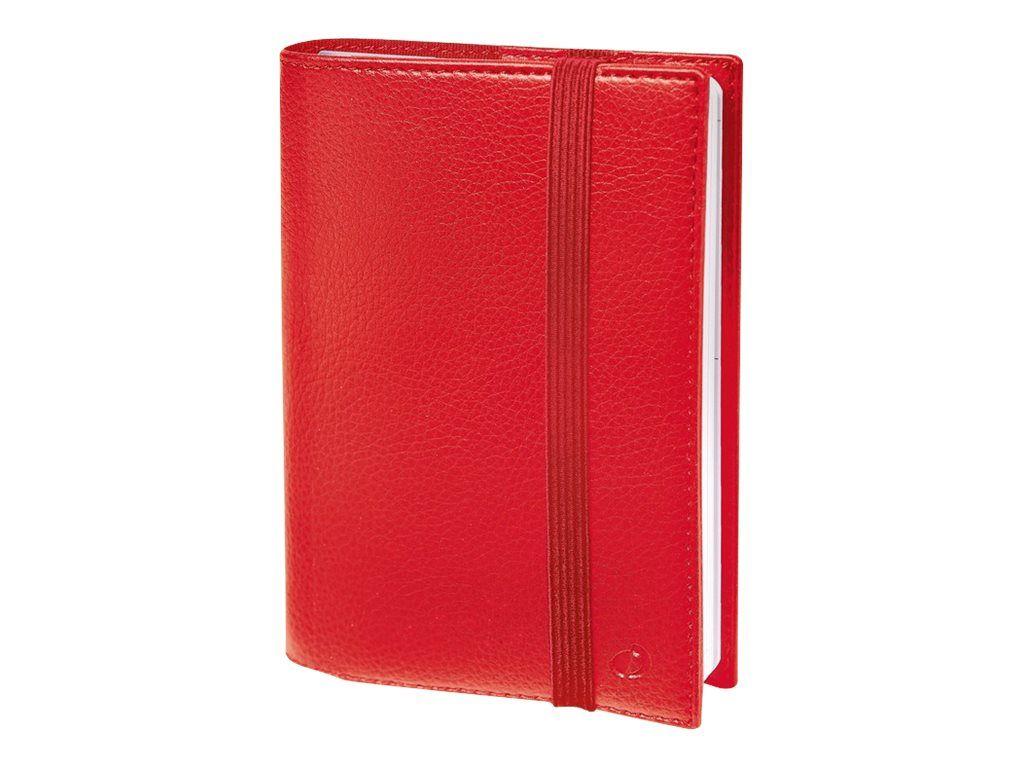 Agenda Time & Life Pocket Rouge Cerise Semainier Quo Vadis