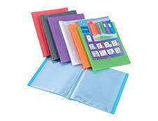 Viquel Propyglass - farde de présentation personnalisable - 160 vues - A4 - couleurs assorties