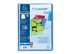 Exacompta KreaCover - farde de présentation - 40 vues - A4