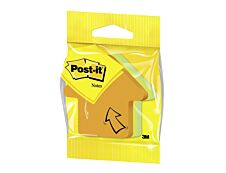 Cube Post-it Forme Fantaisie Flèche