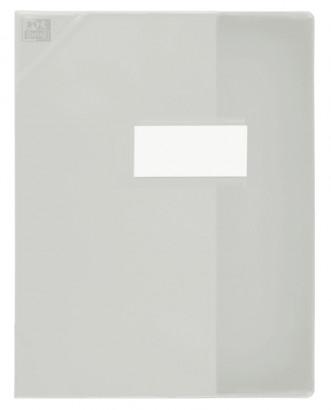 Oxford Strong Line - Protège cahier sans rabat - A4 (21x29,7 cm) - incolore translucide