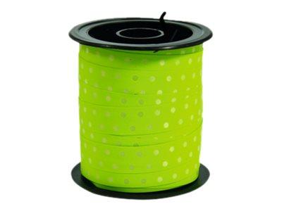 Maildor - Bolduc à pois - ruban d'emballage 10 mm x 10 m - disponible dans différentes couleurs