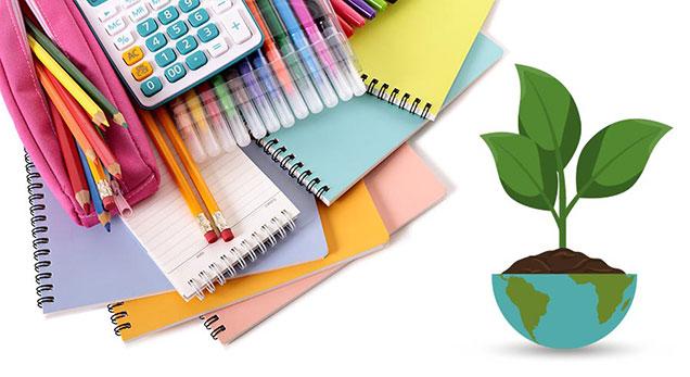 Fournitures scolaires écologiques