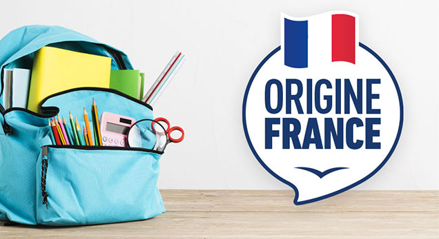 Fournitures scolaires Made in France