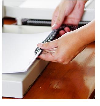 Service de finition de documents